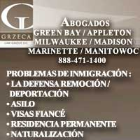 Abogados Appleton, Abogados Green Bay