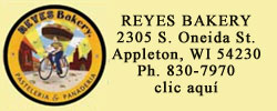 reyes bakery, appleton, wisconsin